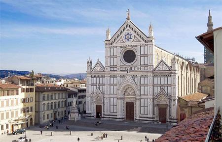базилика Санта Кроче - Средневековая Флоренция