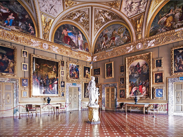 Дворец Питти и Палатинская галерея